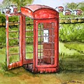 Forgotten Phone Booth by Diane Palmer