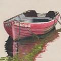Forgotten Red Boat II by Tom Popplewell