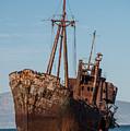 Forgotten Ship Wreck by Jaroslaw Blaminsky