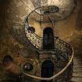 Forgotten Staircase by Jaroslaw Blaminsky