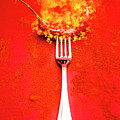 Forking Hot Food by Jorgo Photography - Wall Art Gallery
