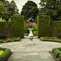 Quiet Garden Space At Niagara Falls Botanical Gardens by Maria Janicki