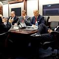 Former President Clinton Briefs by Everett