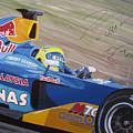 Formula One Racing Car Sauber Petronas by Antje Wieser