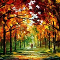 Forrest Of Dreams by Leonid Afremov
