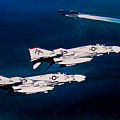 Forrestal S Phantoms by Marc Stewart
