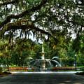Forsyth Park Fountain 2 Historic Savannah Georgia by Reid Callaway