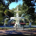 Forsyth Park Fountain In Springtime by Carol Groenen