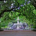 Forsyth Park by Jean Haynes