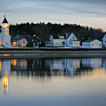 Fort Baldwin Winter Evening by Olivier Le Queinec