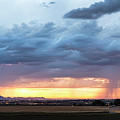 Fort Collins Colorado Sunset Lightning Storm by James BO Insogna