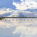 Fort Fisher Reflection by Paul Boroznoff