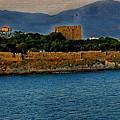 Fort Guvercinada On Canvas by Gordon Castle