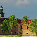 Fort Jefferson by Henri Irizarri