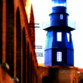 Fort Jefferson Lighthouse by Perry Webster