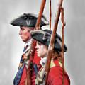 Fort Ligonier Soldiers by Randy Steele