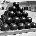 Fort Macon Cannonball by Betsy Knapp