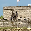 Fort Matanzas by Kenneth Albin