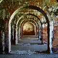 Fort Morgan Arches by Nick Jones