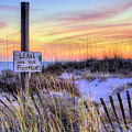 Fort Morgan Sunsets by JC Findley