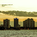 Fort Myers Skyline by Michael Frizzell