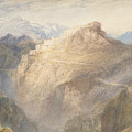 Fort Of L'essillon, Val De La Maurienne, France by Joseph Mallord William Turner