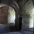 Fort Pickens Corridors by Laurie Perry