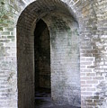 Fort Pickens Entrance by Laurie Perry