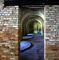 Fort Pickens Interior by Laurie Perry