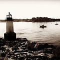 Fort Pickering Lighthouse, Winter Island, Salem, Massachusetts by Lita Kelley