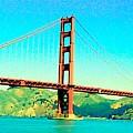 Fort Point Golden Gate Bridge by John Schneider