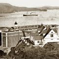 Fort Point Lighthouse, California Lighthouses, San Francisco Circa 1890 by California Views Archives Mr Pat Hathaway Archives