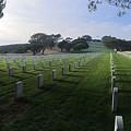 Fort Rosecrans National Cemetery by Lynn Geoffroy