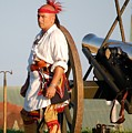Fort Stanwix Warrior by Diane E Berry