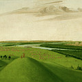 Fort Union, Mouth Of The Yellowstone River, 2000 Miles Above St. by George Catlin