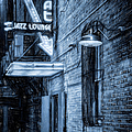 Fort Worth Impressions Scat Lounge Bw by Joan Carroll