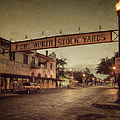 Fort Worth Impressions Stockyards by Joan Carroll