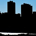 Fort Worth Silhouette by Frozen in Time Fine Art Photography