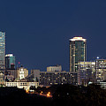 Fort Worth Skyline 051918 by Rospotte Photography