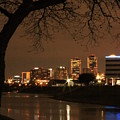 Fort Worth Skyline by Jill Smith