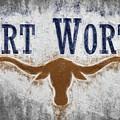 Fort Worth Texas Flag by JC Findley