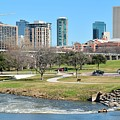 Fort Worth Trinity Park by Frozen in Time Fine Art Photography