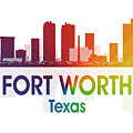 Fort Worth Tx by Angelina Vick