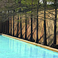 Fort Worth Water Gardens - Quiet Pool by Robert J Sadler
