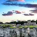 Fortified Wall Of Rhodes, Greece by Global Light Photography - Nicole Leffer