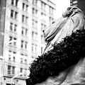 Fortitude Christmas At The New York Public Library In New York City by John Rizzuto