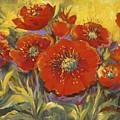 Fortuitous Poppies by Caroline Patrick