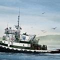 Foss Tugboat Martha Foss by James Williamson