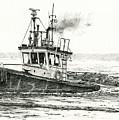 Foss Tugboat Sea Duke by James Williamson