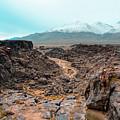 Fossil Falls  by Joshua Hernandez